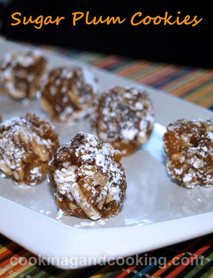 Sugar Plum Cookies Recipe
