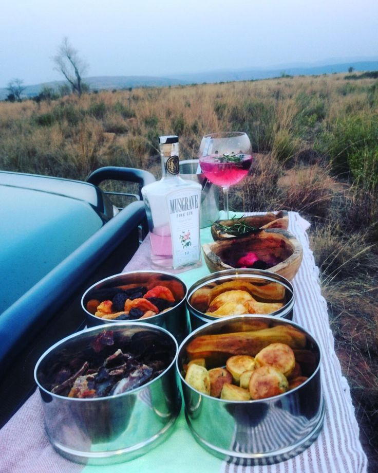 A great treat after a game drive