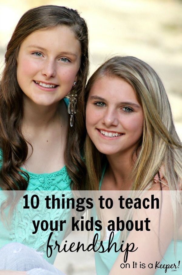 Teaching kids about being a good friend is one of the best life skills you can give them. Here are 10 Things to Teach Your Kids about Friendship. #LoveDoveFruits #ad