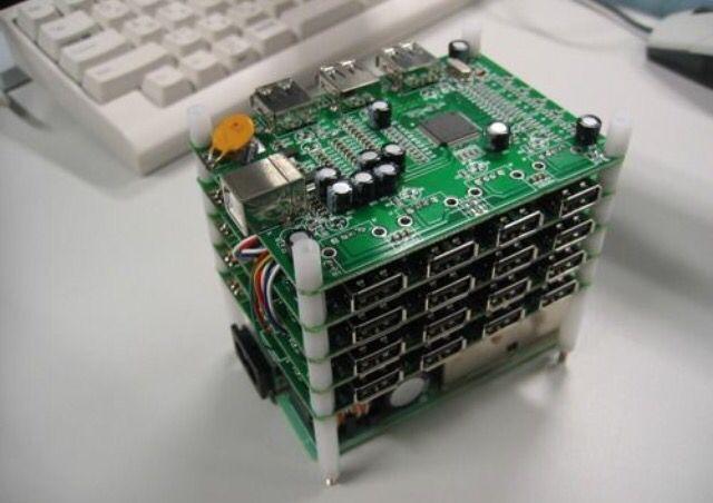 Raid USB attachment for computers.