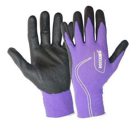 Fijne handschoen om o.a uw gereedschap mee te onderhouden in een vrouwelijke kleur. U behoudt het gevoel en de handen blijven schoon. voelt aan als een tweede huid. Slijtvaste, sterke, soepele handschoen die handen optimaal beschermen tegen alledaagse werkzaamheden in de schuur of in de tuin.