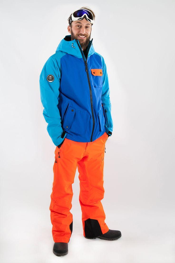 Veste de ski technique Watts Homme Slide Bleu #Watts #Ski #Sports