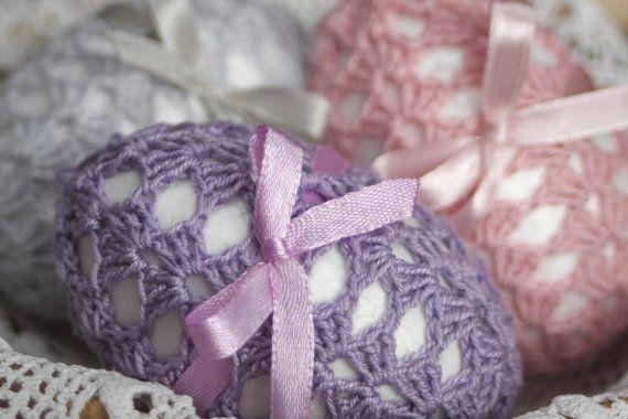 pastel crochet eggs. visit my Etsy shop: https://www.etsy.com/shop/DecorAnna