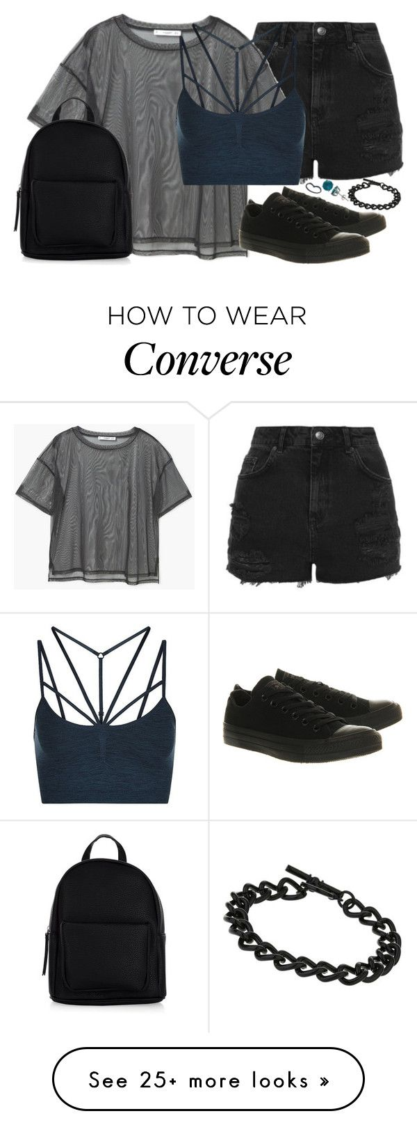 """When you said it was over you shot right through my heart.."" by ferny117 on Polyvore featuring Topshop, MANGO, Sweaty Betty, Converse, BaubleBar, Miss Selfridge, New Look, Luxiro, converse and lyrics"