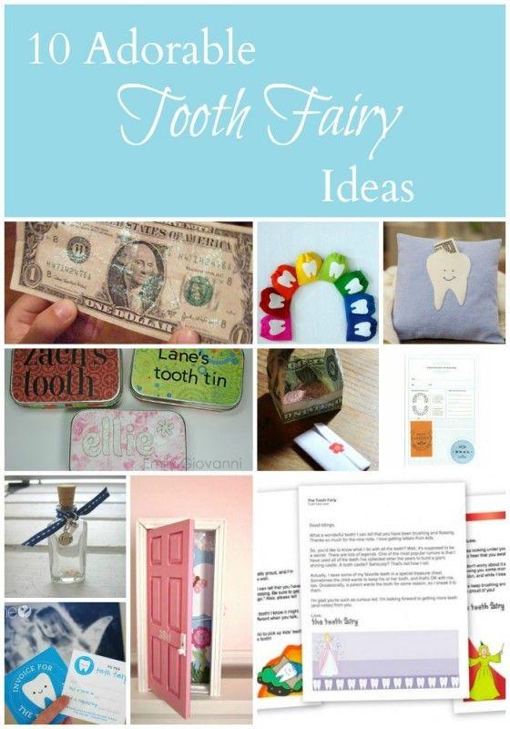 10 adorable tooth fairy ideas