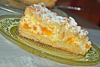 Streuselkuchen mit Mandarinen und Schmand 5