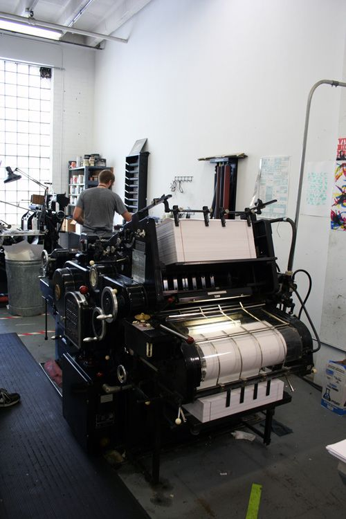 I have always wanted a printing press...