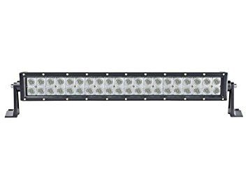 Totron TLB3120 DC Straight Double Row 3W CREE 20 Inch Light Bar COMBO
