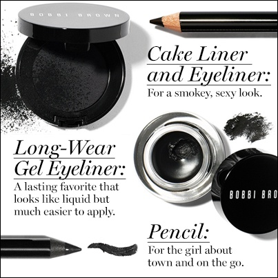 Choose Your Black Collection  http://www.bobbibrowncosmetics.com/products/10142/index.tmpl?_mmc=Pinterest-_-MakeupBoard-_-ChooseYourBack-_-CMS    Bobbi Brown