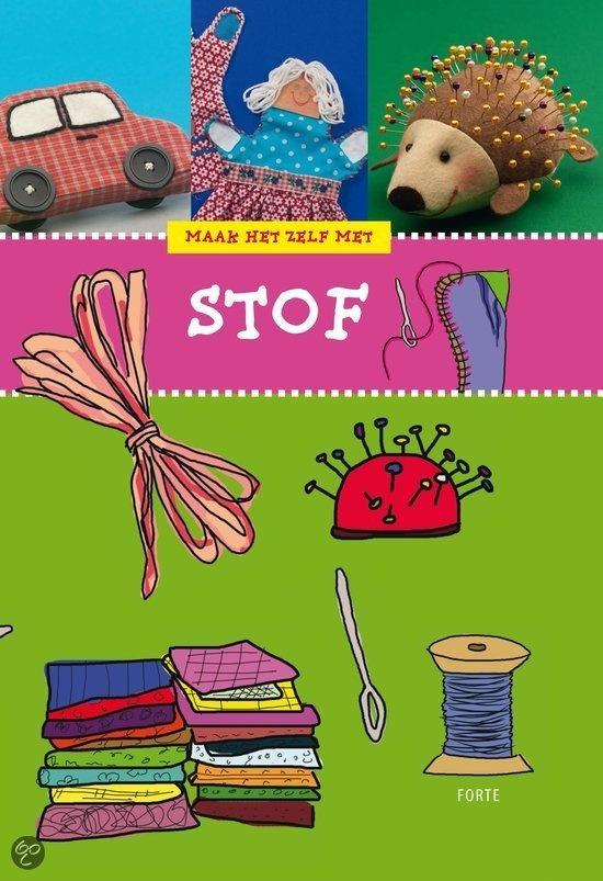 MAAK HET ZELF MET STOF - Rina Soffers - 9789058778383 - € 12,95.  Vanaf ca. 8 jaar. Met lapjes en draad en naald kun je de mooiste dingen maken. Naai ze aan elkaar en je hebt al gauw een zakje of tasje. In dit boek staan makkelijke en moeilijke projecten. Een portemonneetje om mee te beginnen. Later kun je een pop met kleertjes maken. BESTELLEN BIJ TOPBOOKS OF VERDER LEZEN? KLIK OP BOVENSTAANDE FOTO!