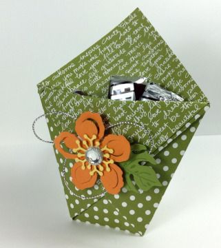 Paper Stack Idea #4: Origami Gift Pouches                                                                                                                                                                                 More