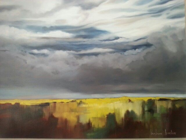 'A New Day' 90cm x 120cm    Oil on canvas Barbara Becker