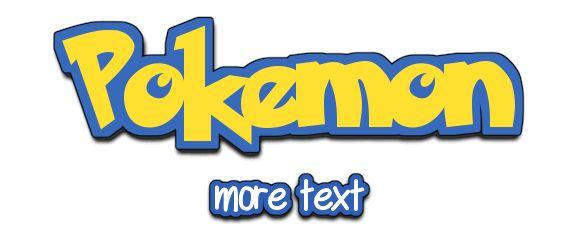 17 best ideas about pokemon maker on pinterest pokemon - Pokemon logo minecraft ...