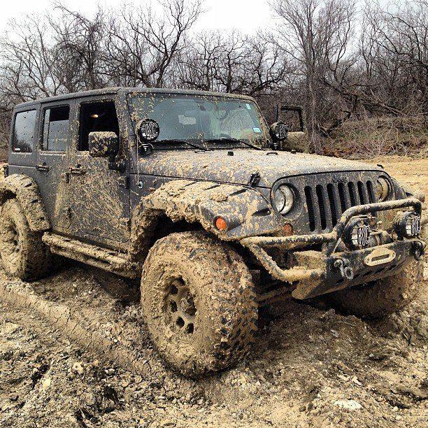 Mud lovin' Jeep
