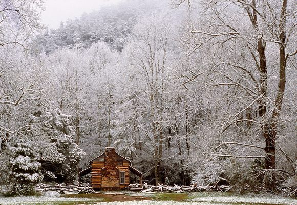 Cades Cove, Tennessee, Great Smoky Mountains National Park. *Photo by Keith Matz