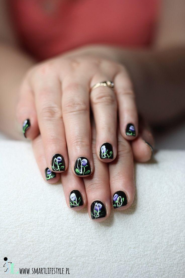 black hybrid nail polish
