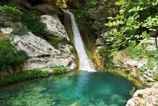 Messinia's best kept secret - Polilimnio waterfalls. Greece