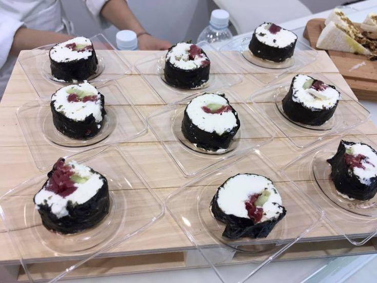 #sushi #tomino #carne #insalata #ricette #food #recipes #tuttofood #fiera #gusto #foodporn #fusion #giappone #piemonte #italia #cucina