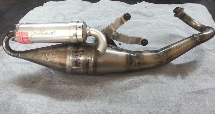 marmitta leovinci HM alluminio Piaggio ZIP -NRG- TYPHOON - RUNNER