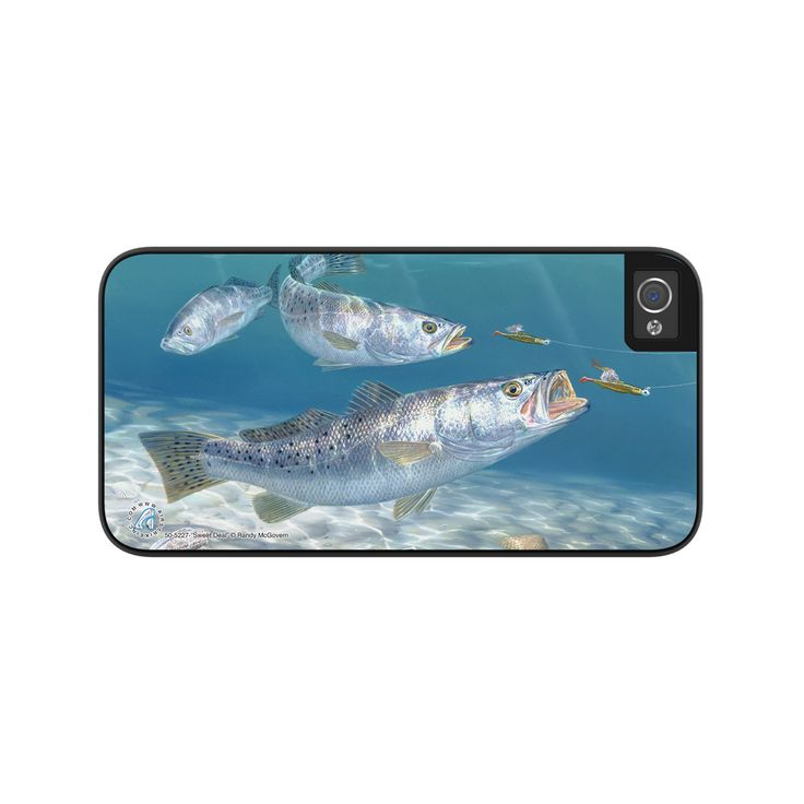 "Airstrike® Speckled Trout iPhone 5s Case, Speckled Trout iPhone 5 Case, Speckled Trout iPhone Case Protective Trout Phone Cases ""Sweet Deal"" 50-5227"