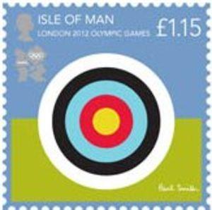 Stamp: Shooting (Isle of Man) (Olympic Games, London) Mi:IM 1749,Sg:IM 1720