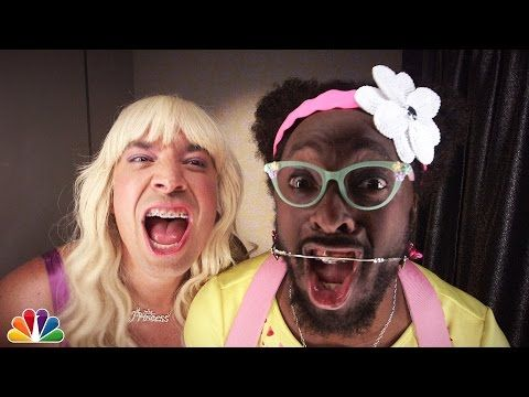 Jimmy Fallon And Will.i.am Rap As Teenage Girls In New Music Video