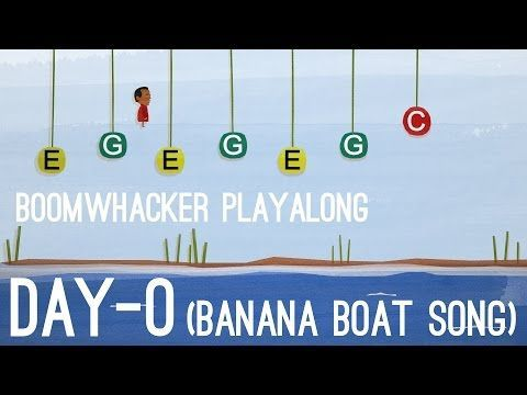 Day-O (The Banana Boat Song) - Boomwhackers - YouTube