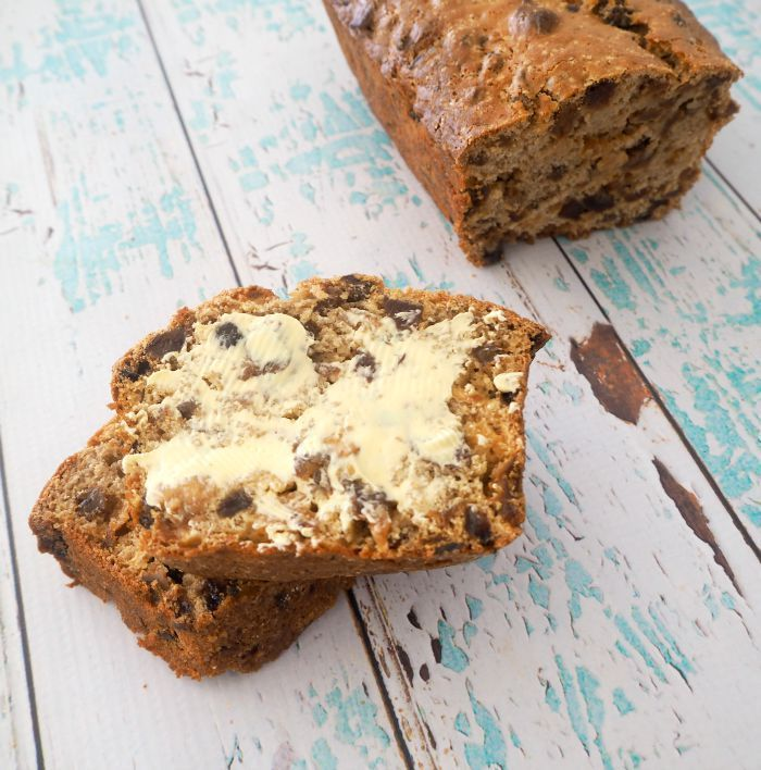 All you need is five ingredients to make this easy Thermomix Fruit Loaf recipe and in no time at all you will be sitting down to a piece of this dense and yummy loaf and if you are like me you will slather it in a thick layer of homemade butter as after all, butter makes everything better right?!
