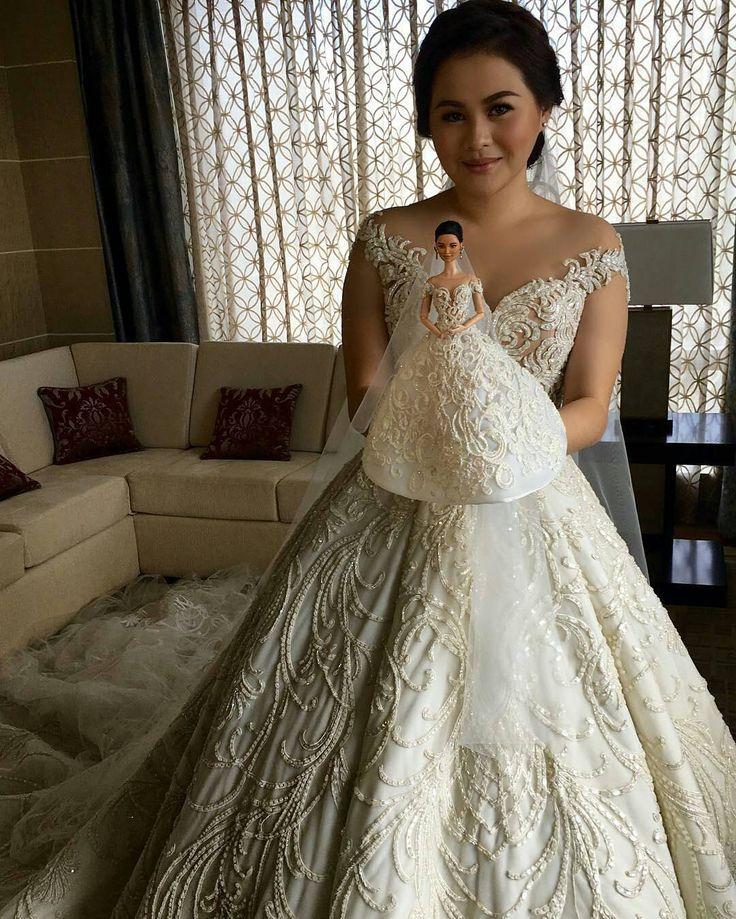 29 best Wedding Gown images on Pinterest | Wedding dressses, Wedding ...