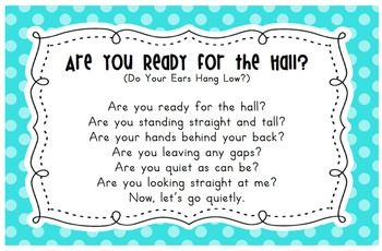 LINE UP SONGS CARDS - TeachersPayTeachers.com
