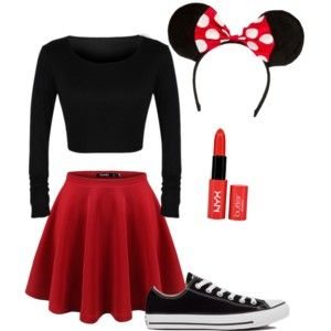 Minnie Mouse costume!