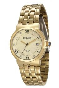 23513LPSVDA3 Relógio Feminino Seculus Long Life