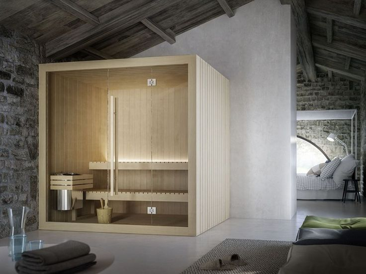 Finnish prefab sauna HOSHI by Glass 1989