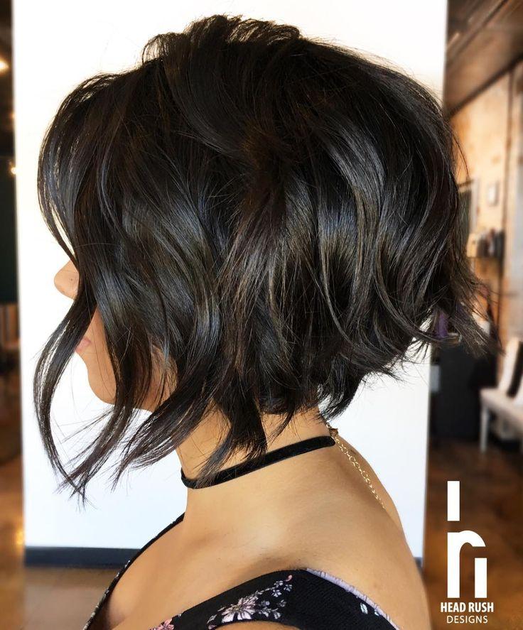 30 Super Hot Stacked Bob Frisuren: Kurze Frisuren für Frauen
