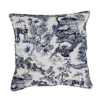 kina kudde kuddfodral kinesiskt mönster