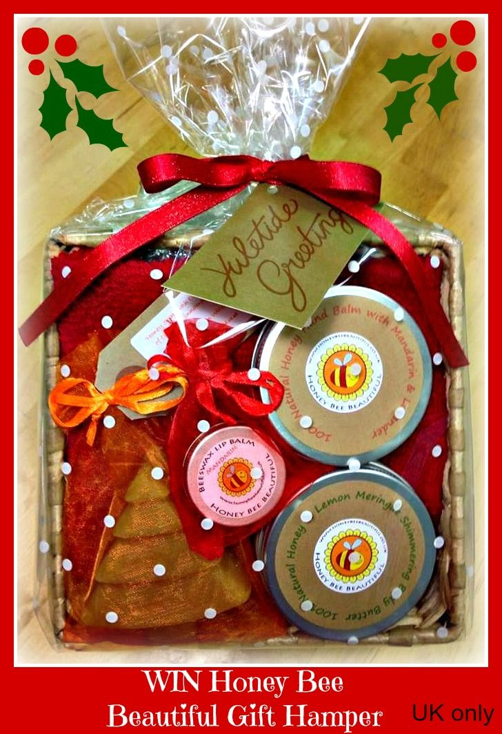 WIN Christmas Gift Hamper From Honey Bee Beautiful via Kelly Martin Speaks this Christmas #win #christmas