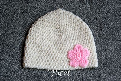 Picot - Szydełkowe Inspiracje: Kolejna czapka