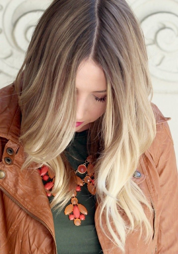 Easy Long Hairstyle: Dark Ash Blonde