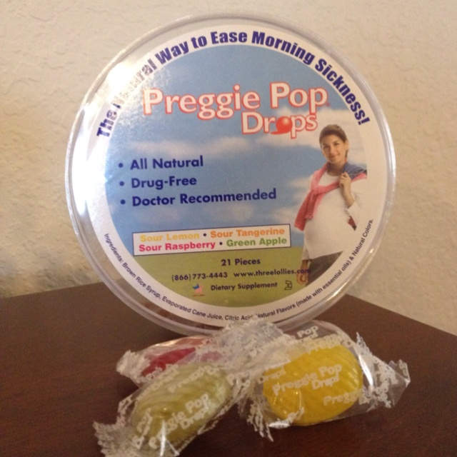 Preggie Pops...nausea relief for moms to be...hope they work!