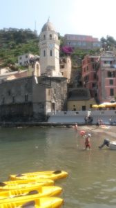 Swimming in Vernazzo