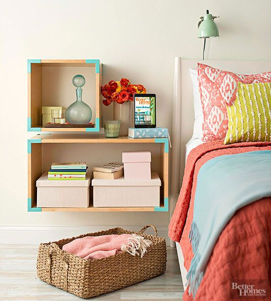 Clear the clutter with these mini-but-mighty small bedroom storage ideas that will help you trick a slim space into handling everything.