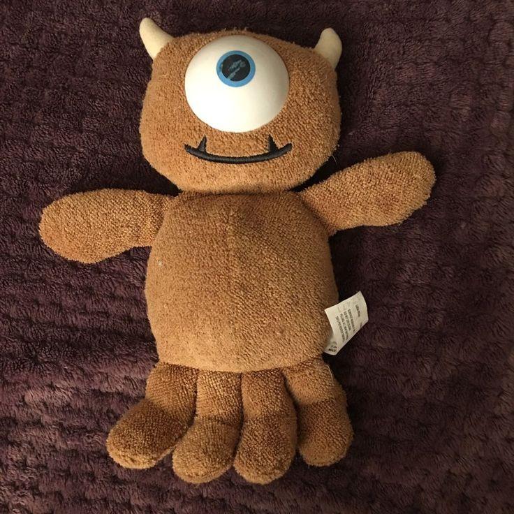 Rare Disney Pixar Monsters Inc 2001 Plush Little Mikey Preowned #Pixar