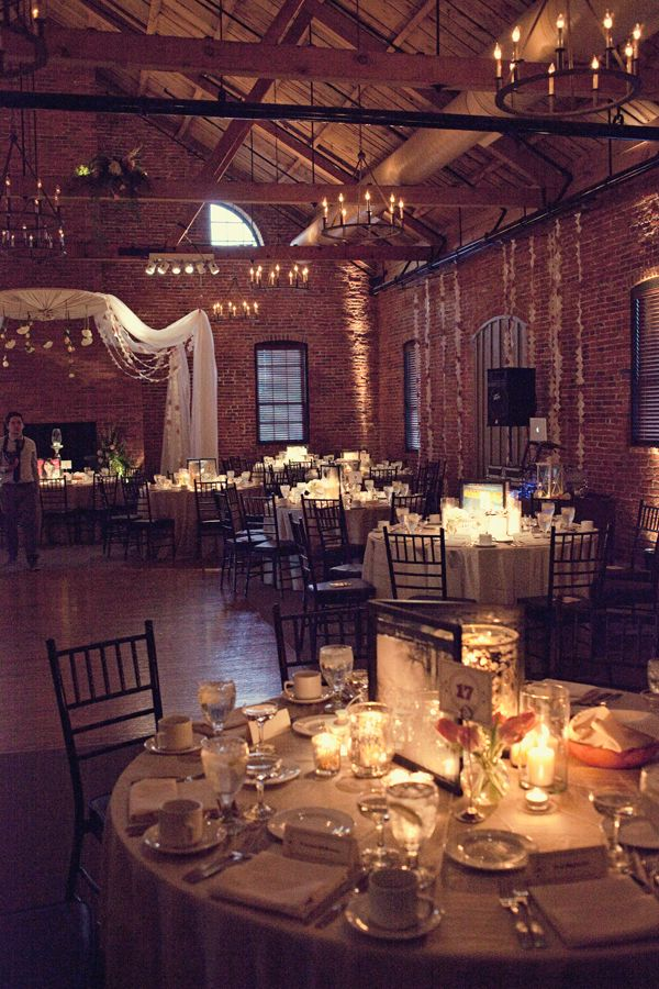 This has a simimlar look to The Mavris with the exposed brick and wood.     postcards and pretties: {real wedding} dawn + rennie urban wedding