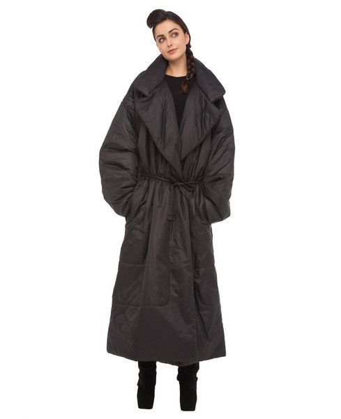 SUPER SIZED LONG SLEEPING BAG COAT by Norma Kamali