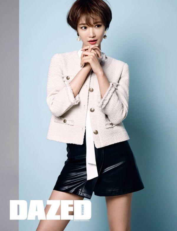 Go Jun Hee Iin Dazed & Confused Korea Magazine