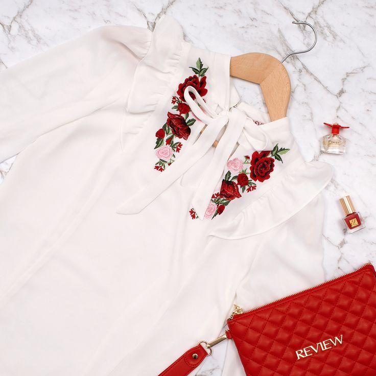 Sweet Rosa Top | Cream and Multi