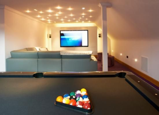 Home Cinema And Games Room New Wave Av Smart Home