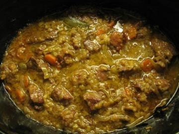 Imagen de la receta: JABALÍ ESTOFADO