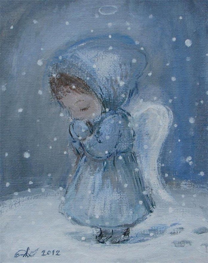 фотография картинки зима ангелочки посвящена