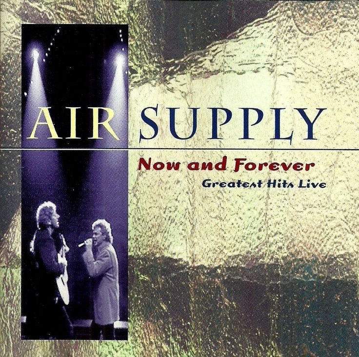 #AirSupply : Now and Forever - Greatest Hits Live - South Africa Edition #CD